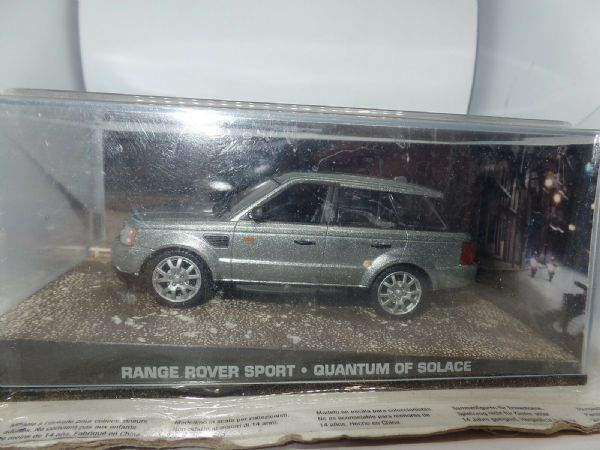 James Bond 1/43 Scale Model Car Land Range Rover Sport - Quantum of Solace